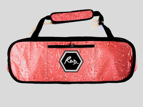 "RAD Skateboard Travel Bag Kids 30"" Red Rain"