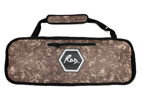 "RAD Skateboard Travel Bag Kids 30"" Brown Scratch"