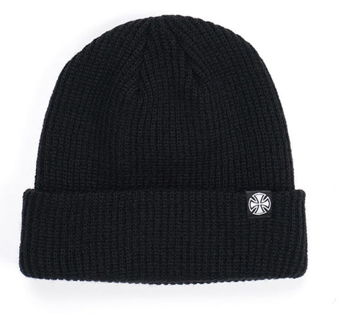 Independent Truck Co. Cross Wharfie Beanie Black