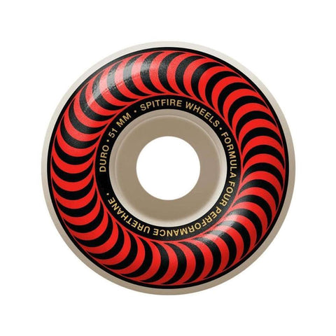 Spitfire Formula 4 Classic 99 Red 51mm