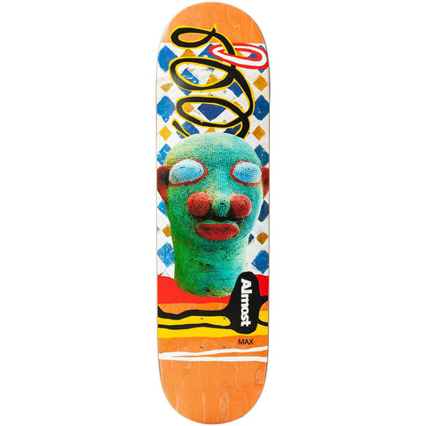 Almost African Mask R7 Deck - Max Geronzi 8.5""
