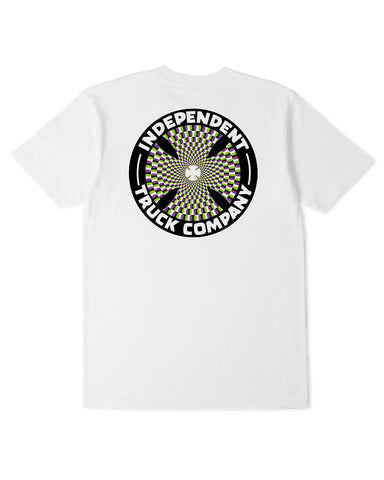Independent Pinwheel Tee White