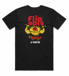 Flipside Pie Shirt - Black