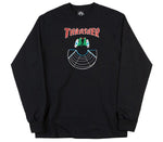 Thrasher - Doubles Longsleeve Black