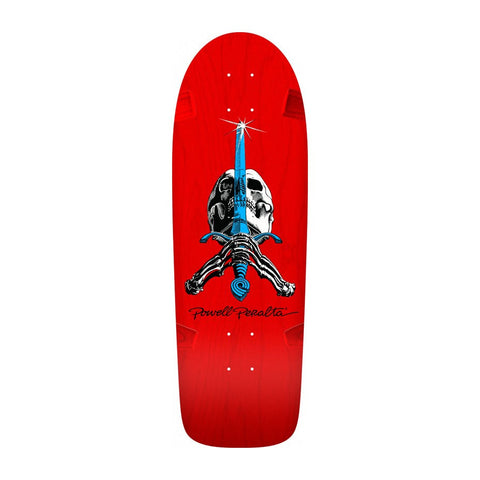 Powell Peralta - Rodriquez Skull & Sword Red""