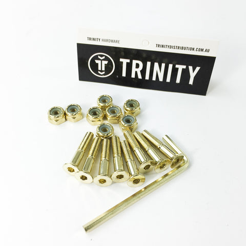 "Trinity Bolts 1"" Gold Allen"