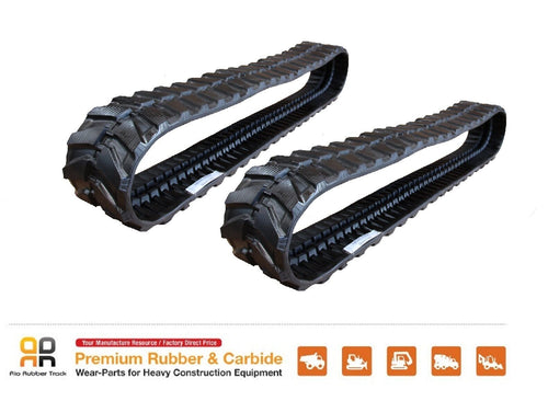 2pc Rubber Track 300x52.5x90 CAT 303.5ECR mini excavator