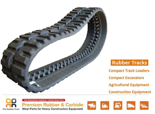 Rio Rubber Track 450x86x63 CAT 272C Gehl 7600 7610 7800 7810 skid steer loader-Rio Rubber Track