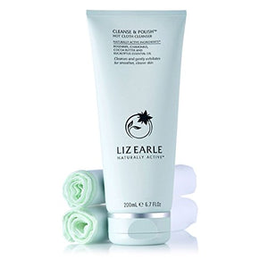 Liz Earle Cleanse & Polish 200ml Tube (with Two Cloths.)