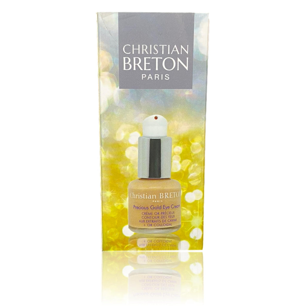 Christian Breton Paris Precious Gold Eye Cream,  Eye Contour Cream Caviar & Gold 15ml