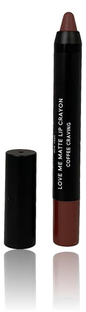 Laura Geller Love Me Matte Lip Colour in-Coffee Craving: a chocolate nude shade (1.5g)