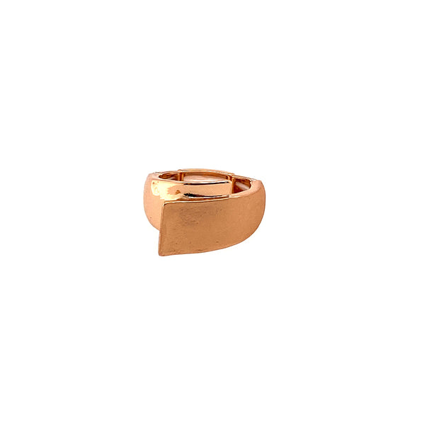 Ring elast.Schiene rose gold