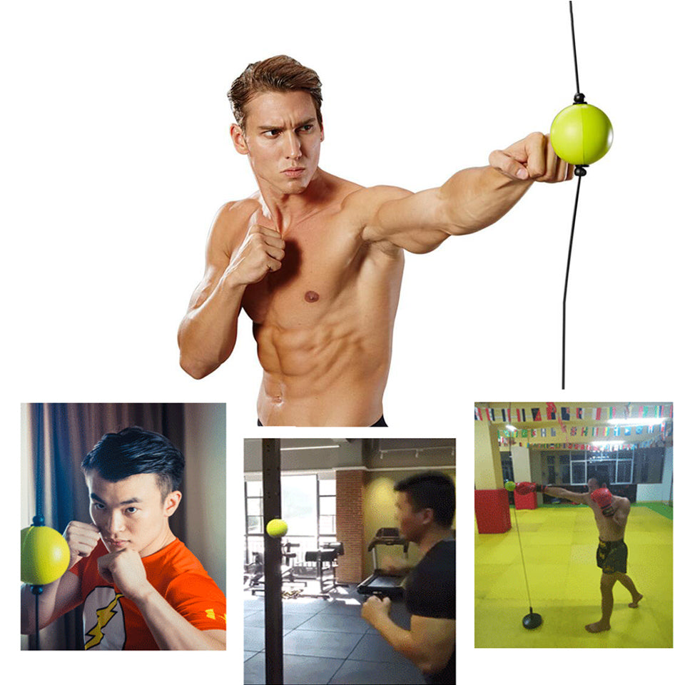 Hot sale High quality 2019 New Boxing Punch Exercise Fight Ball React Reflex Ball Portable Fitness Equipment Training ball