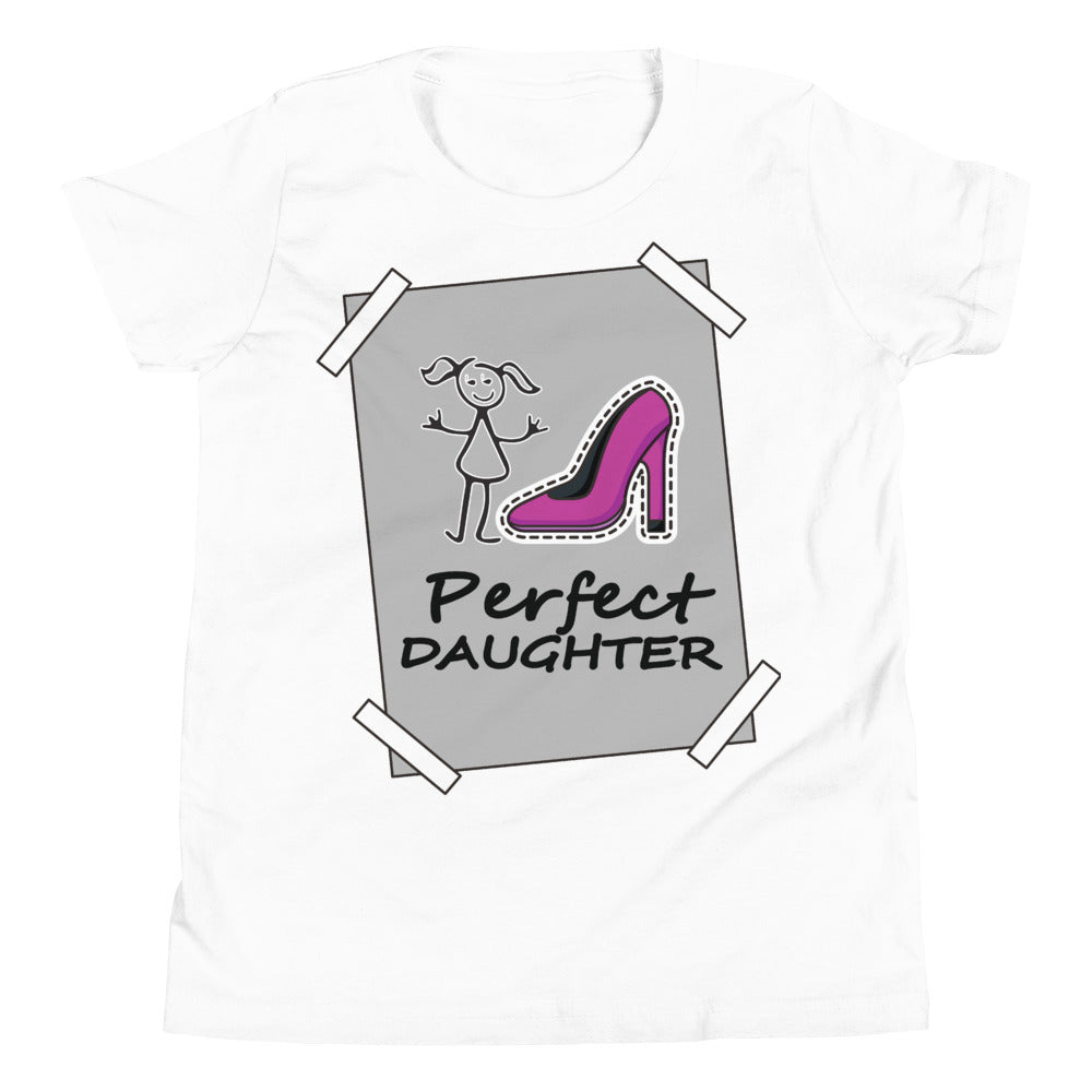 Youth Short Sleeve T-Shirt for girls