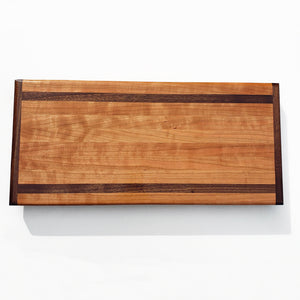 Cherry and Walnut Cutting Block - Edge Grain