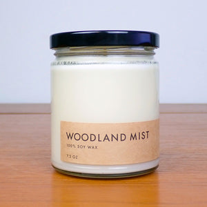 Woodland Mist - Soy Wax Candle