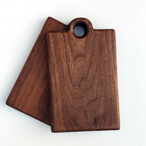 Black Walnut Personal Serving Boards - Set of 2