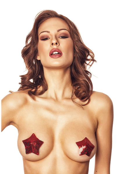 AN Brigi nipple covers red