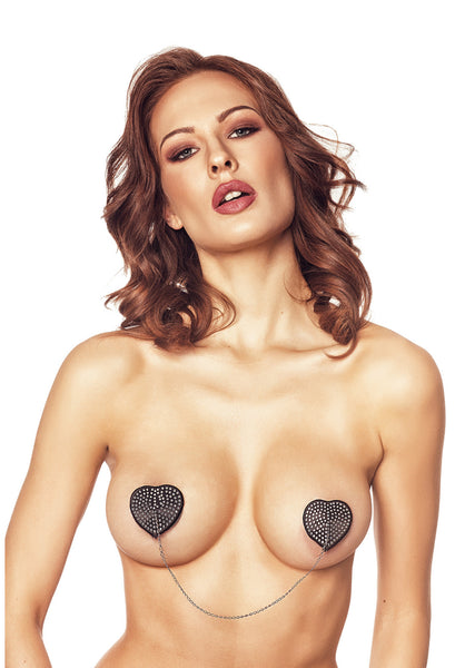 AN Orsi nipple covers black
