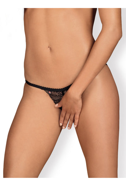 OB Chiccanta crotchless panties black