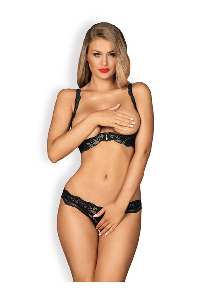 OB Luvae 2 pcs set cupless black