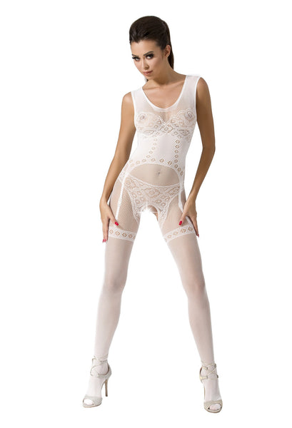PE Bodystocking BS052 weiß
