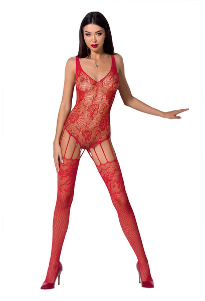 PE Bodystocking BS074 red