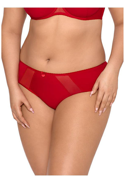 V-8433 Plus Size panty red