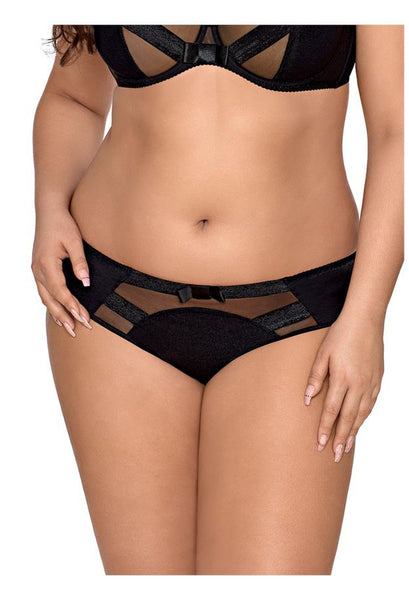 V-8453 Plus Size panty black