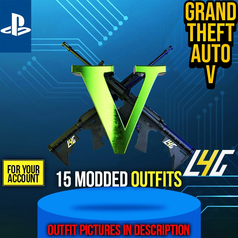 PS4 - GTA V Special Outfits Boost (15 Outfits) loot4games.myshopify.com (4709529649240)