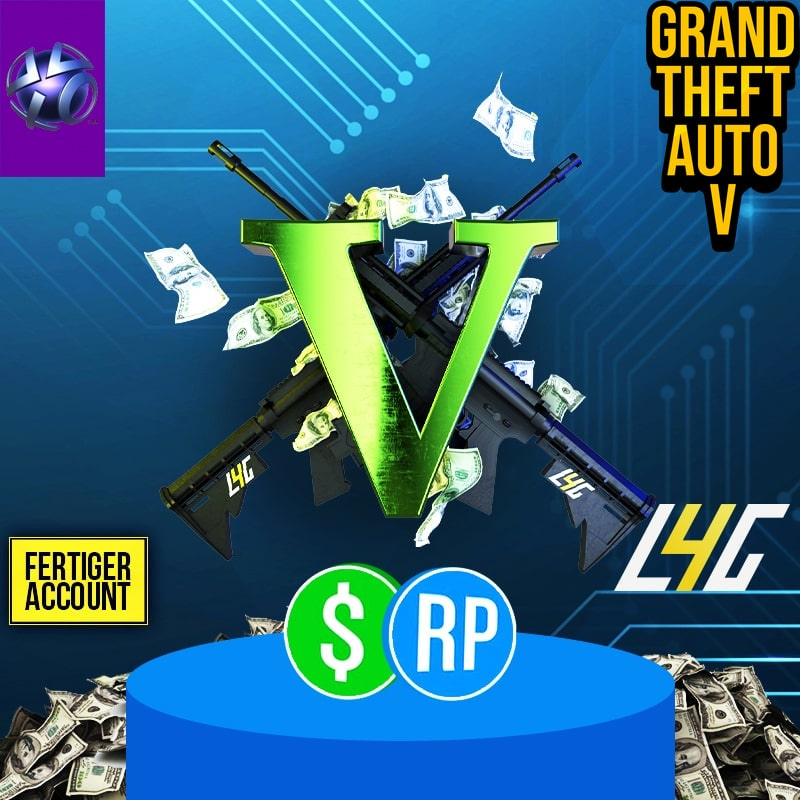 PS3 - GTA V Account 750 Mio. GTA$ + Rang 120 loot4games.myshopify.com (4414973870168)