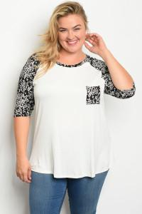 Diva Chic Raglan Top