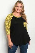Load image into Gallery viewer, Diva Chic Raglan Top