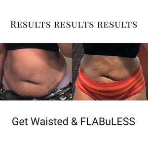 Get Waisted & FLABuLESS Fat Burning Body Rub