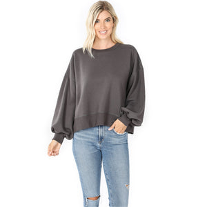 BALLOON SLEEVE SWEATSHIRTS