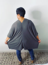 Load image into Gallery viewer, Oversized V-Neck Poncho