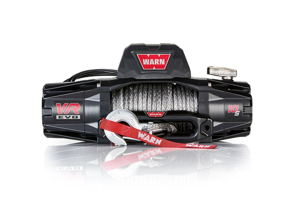 Warn Industries | VR10-S Truck/SUV Winch | 10,000lb Capacity | 90' Synthetic Rope | 103253