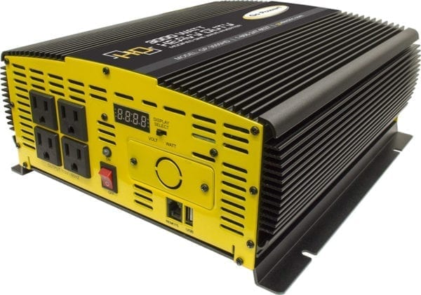 Go Power | GP3000HD Modified Sine Wave Inverter | 3000w 120v | 80178