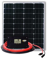 Go Power | Eco Solar Charging System | 80w 4.6a | Rigid Solar Panel | 72627