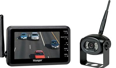 "ASA Electronics | Wireless Backup Camera System | 4.3"" Color Monitor 