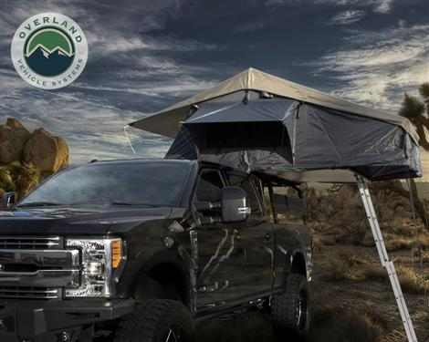 "Overland Vehicle Systems | Roof Mount Tent Kit | 122""L x 75""W x 51""H 
