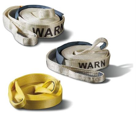 "Warn Industries | Standard Recovery Strap | 3""x 30' Yellow 