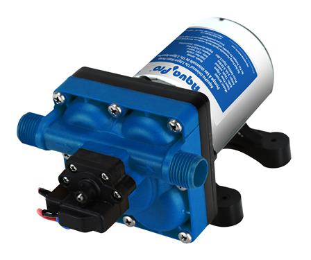 Aqua Pro | 3gpm 55psi RV Fresh Water Pump | Rubber Base & Strainer | 21847