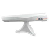 King |  Falcon Roof Mounted Automatic Directional WiFi Antenna w/WiFiMax Extender | White | KF1000