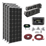 Zamp Solar | 680w Roof Mount RV Solar System | KIT2014