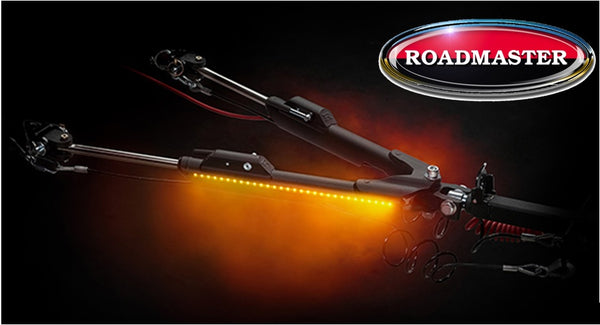 Roadmaster | Nighthawk Lighted Tow Bar | 8,000lb Capacity | 676