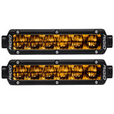 Rigid Industries | SR-Series SAE Fog Light | Yellow Light | Black Housing | 906704