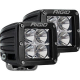Rigid Industries | D Series LED Pod Lights | Flood Beam | Black | Pair | 202113