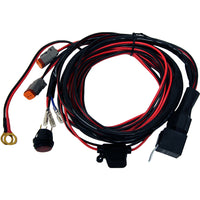 Rigid Industries | LED Light Bar Wiring Harness | For Pair of D2 Lights | 40196