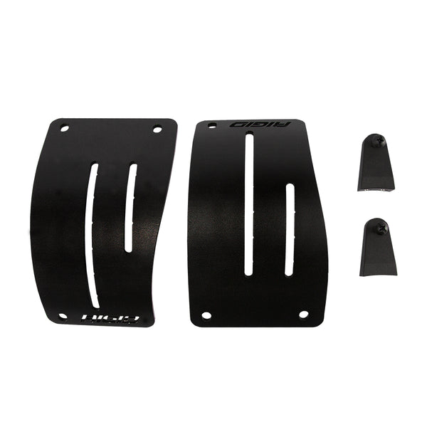 Rigid Industries | 2018 JEEP WRANGLER JL | COWL MOUNT FOR 2 D-SERIES Lights | Black | 41656